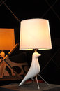 Desk lamp table light real and beautiful by professional photographer has years of experience in photography as much as possible Stock Photos