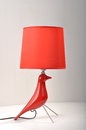 Romantic Christmas gift,red Desk lamp, table light,Home Furnishing decoration Romantic Christmas gift,Holiday gift Valentine Gift Royalty Free Stock Photo