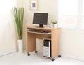 Desktop computer con il CPU Fotografie Stock Libere da Diritti