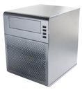 Desktop server isolated Royalty Free Stock Photo