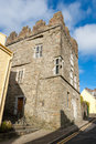 Desmond castle kinsale ireland exterior of in the middle of county cork Royalty Free Stock Photo