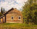 Desolate wooden house Stock Images
