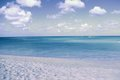 Desolated beach a in aruba image taken on january during a caribbean cruise fantastic day Stock Image