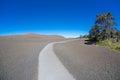 Desolation trail hawaii trailon in volcano national park on big island Stock Photo