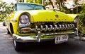 DeSoto auf Weinlese-Auto-Parade Stockfotografie
