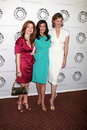 Desperate housewives dana delany brenda strong teri hatcher Imagenes de archivo