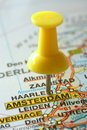 Destination Amsterdam Stock Photo