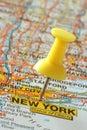 Destination new york Стоковое Фото
