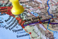 Destination: San Diego - California Stock Images