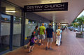 Destiny church new zealand rotorua nzl jan the original in rotorua it opened in with people and peaked in with over supporters and Stock Photography
