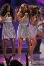 Destiny s child destinys during the world music awards show kodak theatre hollywood ca Royalty Free Stock Images