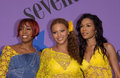 Destiny s child pop group at the teen choice awards at the universal amphitheatre hollywood they won the award for choice pop Royalty Free Stock Photos