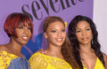 Destiny s child pop group at the teen choice awards at the universal amphitheatre hollywood they won the award for choice pop Stock Images