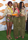 Destiny s child recipient of the award for favorite singing group arrives at the nickelodeon th annual kid choice awards april Royalty Free Stock Photography