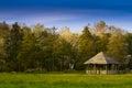 Destroid summer cottage Royalty Free Stock Photo