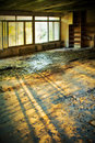 Destroyed old house Royalty Free Stock Images