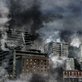 Destruction urbaine Photographie stock