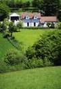 Detached house Royalty Free Stock Photography