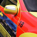 Detail of ambulance Royalty Free Stock Photo