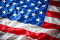 Detail of American Flag Stars Royalty Free Stock Photo