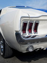 Detail of American sportscar Royalty Free Stock Photo