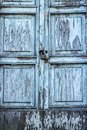 detail of an ancient door Royalty Free Stock Photo