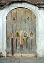 Detail of ancient  door Royalty Free Stock Photo
