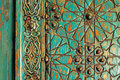 A detail of an ancient ottoman door Royalty Free Stock Photo