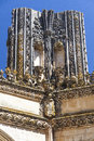 Detail of batalha monastery portugal unesco world cultural heritage Stock Photos