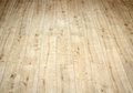 Detail of a beautiful wooden brown laminated floor close up Stock Photography