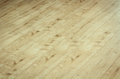 Detail of a beautiful wooden brown laminated floor close up Royalty Free Stock Photos