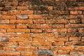Painted brick wall texture, vector