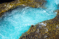 Detail of the bruara river in iceland Stock Images