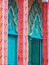 Detail of Buddhist Temple in Cambodia Stock Image
