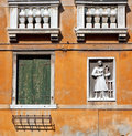 Detail of building in Venice Royalty Free Stock Images