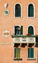 Detail of building in Venice Royalty Free Stock Photography