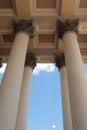 Detail of capitol columns