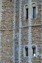 Detail of castle tower walls Royalty Free Stock Photography