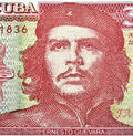 Detail of Che Guevara Royalty Free Stock Images