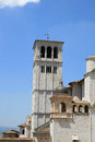 Detail of church in Assisi, Italy Royalty Free Stock Photography