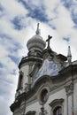 Detail of Church of Nossa Senhora do Brasil Stock Photos