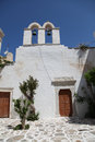 Detail church paros island cylcades greece Royalty Free Stock Photo