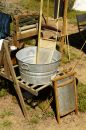 Detail in a Civil War Encampment 3 Royalty Free Stock Photo