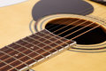 Detail of classic guitar string Royalty Free Stock Image