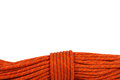 Detail of a Climbing Rope Royalty Free Stock Photo