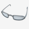 Detail close up on sport sun protective glasses Royalty Free Stock Image