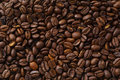 Detail of coffe beans Royalty Free Stock Photo