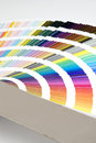 Detail of color guide - chart Royalty Free Stock Images