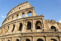 Detail of the Colosseum in Rome, Italy Royalty Free Stock Photo