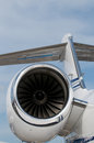 Detail of corporate jet Royalty Free Stock Photo